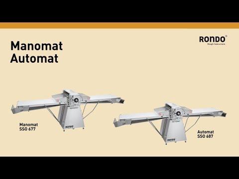 Video Laminoir sur socle 640x2720mm Manomat RONDO