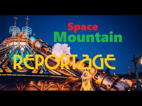 Space Mountain De la Terre à la Lune - REPORTAGE - Disneyland Paris