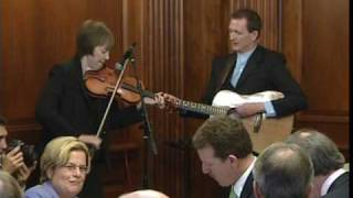 Liz Carroll and John Doyle performing for President Obama - St. Patrick's Day 2009