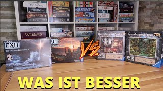 Versus: Exit Puzzle - Kosmos oder Ravensburger Version?