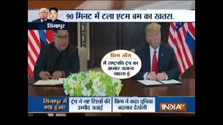 Special Report: How Donald Trump and Kim Jong Un created history in Singapore!