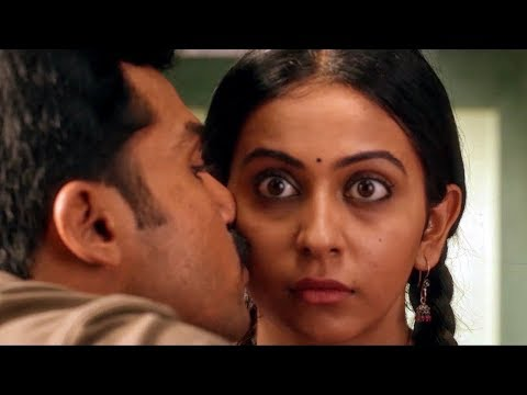 Theeran Love Scene Karthi & Rakul Preet Singh   South Indian Hindi Dubbed Best Love Scene