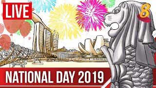 [LIVE HD] NDP 2019: Singapore's bicentennial National Day Parade | Chinese Audio 新加坡两百周年国庆日庆典  中文录频