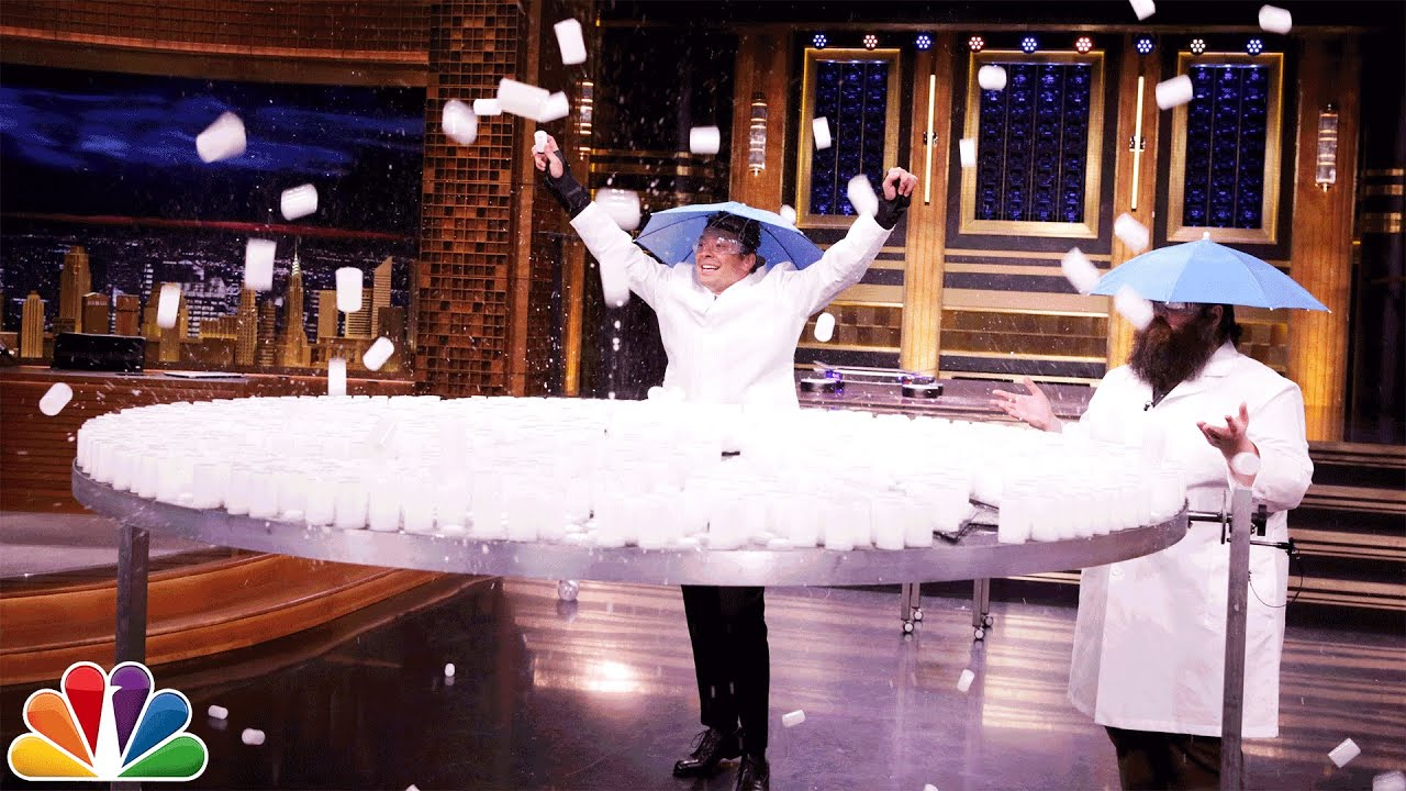Kevin Delaney and Jimmy Fallon Launch 1,000 Alka-Seltzer Rockets thumbnail