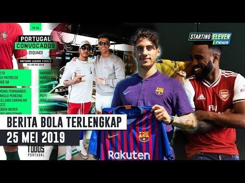 Ronaldo Ke Formula 1 🏆 Jersey Arsenal Musim 19/20 🔥 Pemain Baru Barca 👍 Berita Bola Terlengkap