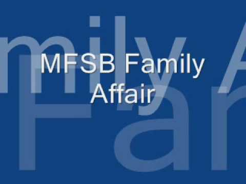 MFSB Family - Affair