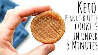 3 ingredient peanut butter cookies no eggs