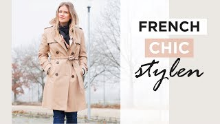 Wie Du Den French Chic Mit Aktuellen Modetrends Stylst | French Style Wardrobe
