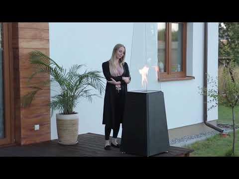 Incalzitor pe gaz cu butelie - cea mai buna solutie de decor pentru terasa exterioara