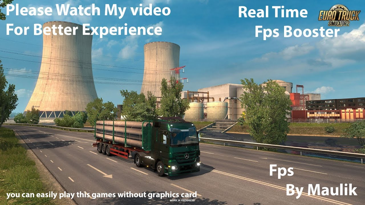 FPS Booster ets2(100%Working) mod for ETS 2