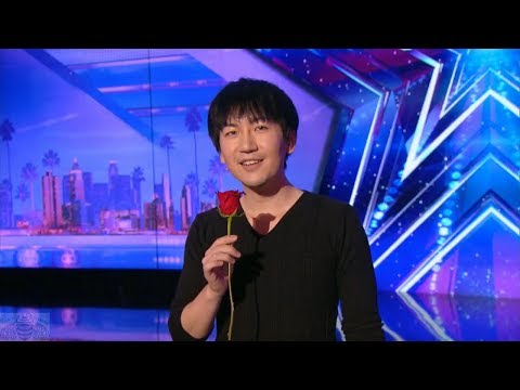America's Got Talent 2017 Visualist Will Tsai Unbelievable Sleight of Hand Full Audition S12E01