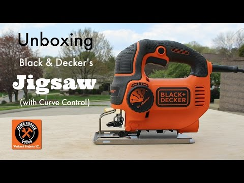 Black and Decker Jigsaw Review (New Curve Control) -- by Home Repair Tutor