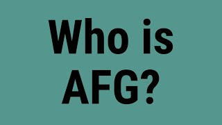 Who is AFG?