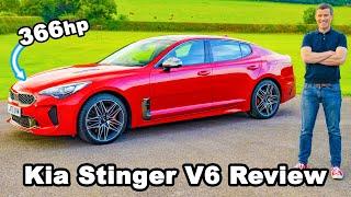 [carwow] Kia Stinger V6 review - better than a BMW M340i?