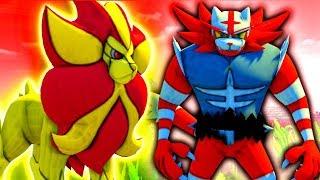 Pyroar  - (Pokémon) - SHINY INCINEROAR VS PYROAR...who will WIN? - Minecraft Pixelmon REBORN BATTLE!