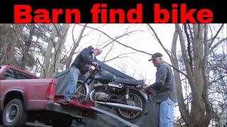 1979 Jawa 350 barn find motorcycle.
