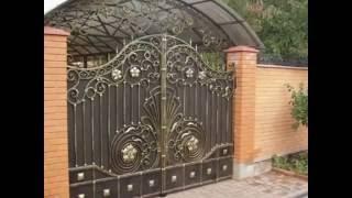 Кованые изделия  ворота, перила, двери, лестницы и мебель