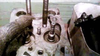 ремонт и дефектовка головок трактора Т25 -Т 40
