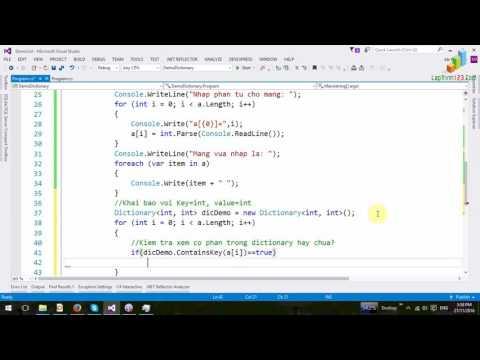 VD06 - Dictionary: Áp dụng giải bài toán