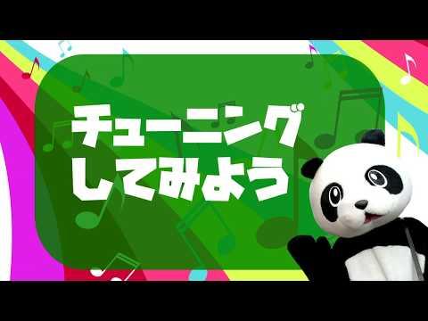 【フェイフェイのパンダでもわかるギター講座】チューニング編