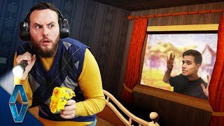 NERF DON'T Get Caught By The Neighbor Challenge!