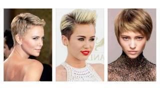 kort frisure til fint hår