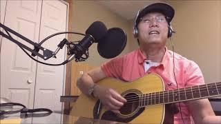 Anh ở đầu sông em cuối sông guitar--By Mr. Bamboo