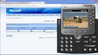 Using PhoneUp for Cisco MediaSense webUI