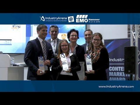 IndustryArena Content Marketing Award: Die Verleihung