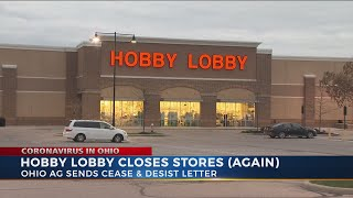 Hobby Lobby Closes After Cease And Desist Order