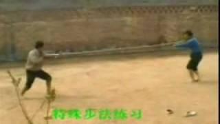 Редкое видео ушу Чо Цзяо (Чо Дзяо)