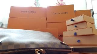 55bfb865f31d Louis Vuitton unboxing Duomo defective strap - shocked and disappointed
