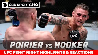 UFC Fight Night Highlights: Poirier outlasts Hooker in instant lightweight classic | CBS Sports HQ