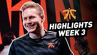 LEC : le Fnatic Highlights de la semaine 3