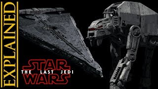 First Order AT-M6 Walker and Dreadnought Revealed!