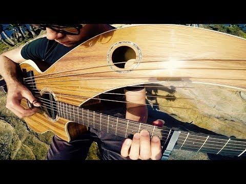 , title : 'California Dreamin' - Harp Guitar Cover - Jamie Dupuis'