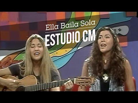 Ella Baila Sola video Entrevista y Acústico - Febrero 1997