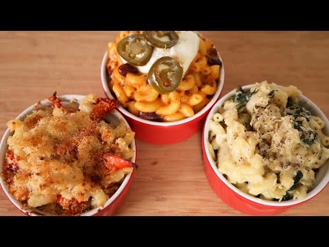Mac and Cheese 3 Delicious Ways