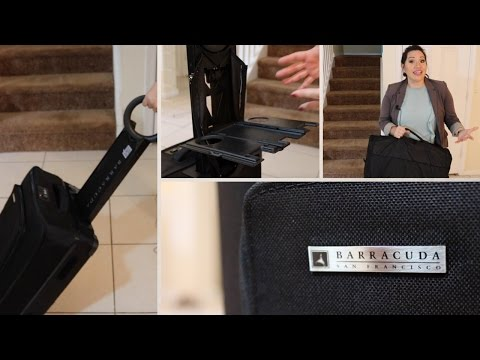 BEST LUGGAGE EVER?! REVIEW: Barracuda Luggage | FIRST IMPRESSIONS of Barracuda Luggage