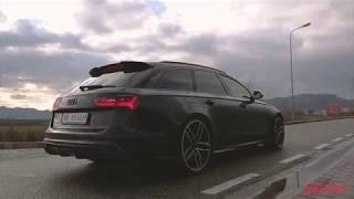 667HP Audi RS6 Stage1 APR -Revs Acceleration & Sound