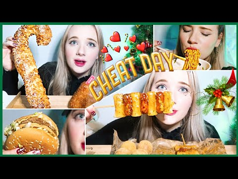 Download Epic Christmas cheatday! 🎄🎅 eating everything I want for a day! Mp4 HD Video and MP3