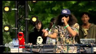 Ab Soul - Terrorist Threats Live Op Appelsap 2012