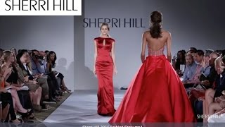 Sherri Hill 2015 Fashion Show