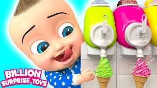 Twins Babies Yummy Ice cream + More Nursery Rhymes & Songs for Kids - BST