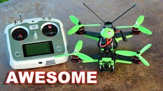 Awesome RTF Race Drone (4S) - KingKong Race 230 FPV Acro Racing - TheRcSaylors