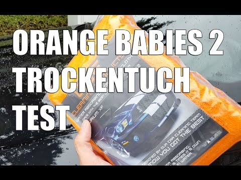 Orange Babies 2   das neue Trockentuch von CSF Orange im Test