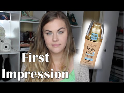 L'oreal Visible Lift Serum Absolute Foundation - First Impression   ChristineGxoxo