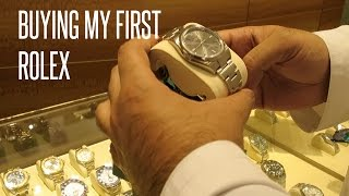 BUYING MY FIRST ROLEX !!!
