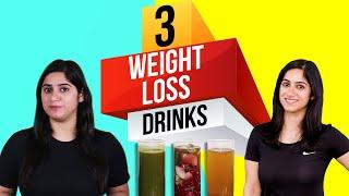 3 Belly Fat Loss Drinks Recipe| Weight Loss Drinks By GunjanShouts