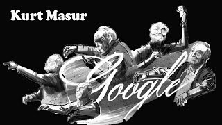 Kurt Masur (German Conductor) Google Doodle